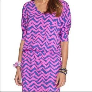 Lilly Pulitzer Cara dolman sleeve dress xs